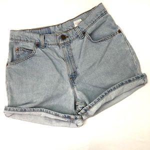 Levi's Shorts - VTG Levi's 910 High Rise Mom Jean Denim Shorts EUC